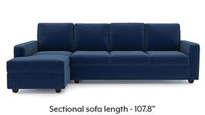 Apollo Sectional Sofa (Lapis Blue)