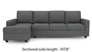 Apollo Sectional Sofa (Smoke)