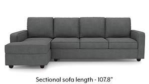 Apollo Sectional Sofa (Smoke)