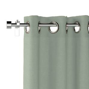 "Ethos Door Curtains - Set Of 2 (Eucalyptus Green, 52""x108"" Curtain Size) by Urban Ladder"