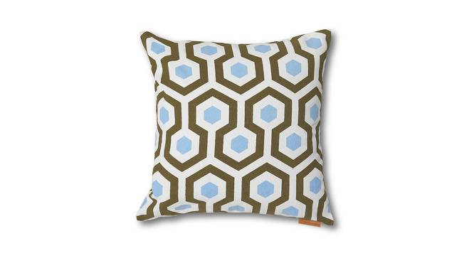 Moroccan Maze Cushion Cover - Set Of 2 (Hexagon Pattern) by Urban Ladder