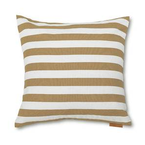 Sander Cushion Cover - Set Of 2 (Stripes Beige Pattern) by Urban Ladder