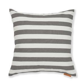 Sander Cushion Cover - Set Of 2 (Stripes Grey Pattern) by Urban Ladder
