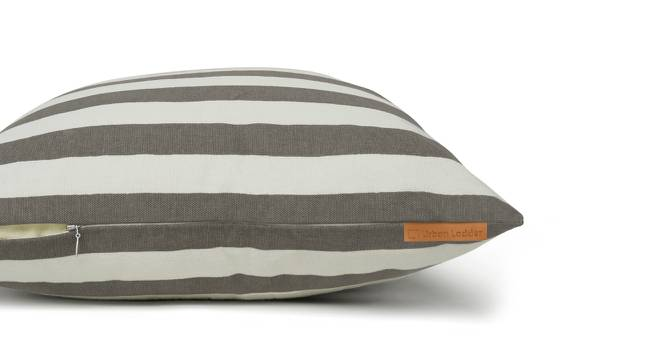 Sander Cushion Cover - Set Of 2 (Stripes Grey Pattern) by Urban Ladder