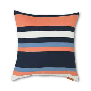Sunrise Cushion Cover - Set Of 2 (Barcode Pattern) by Urban Ladder