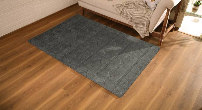 "Sakura Carpet (Grey, 48"" x 72"" Carpet Size) by Urban Ladder"