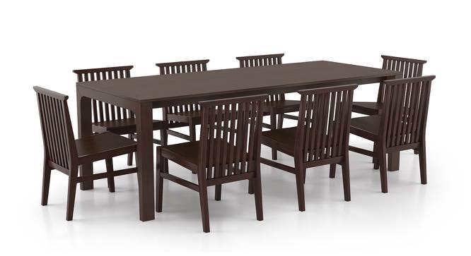 Arco - Angus 8 Seater Dining Table Set (Dark Walnut Finish) by Urban Ladder