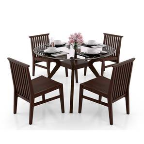 Wesley angus 4 seater dining table set lp