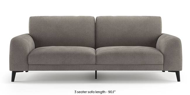 Maribo Sofa (Grey) (Grey, 2-seater Custom Set - Sofas, None Standard Set - Sofas, Fabric Sofa Material, Regular Sofa Size, Regular Sofa Type)