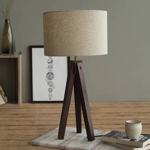 Jersey table lamp dark walnut lp