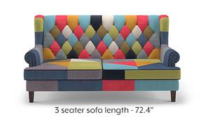 Minnelli Sofa (Retro Patchwork)