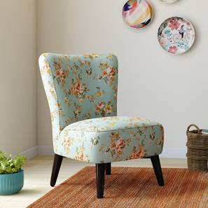 Greta Lounge Chair (Floral) by Urban Ladder