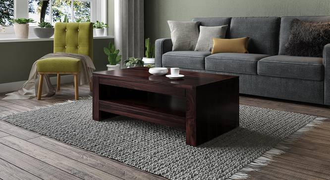 Epsilon Coffee Table (Mahogany Finish) by Urban Ladder - Design 1 Full View - 218165