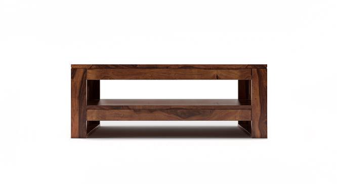 Epsilon Coffee Table (Teak Finish) by Urban Ladder - Cross View Design 1 - 218175