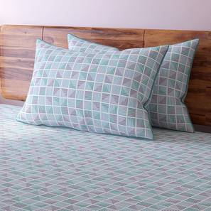 Overlay Bedsheet Set (King Size, Multi Colour, Mazarin Pattern) by Urban Ladder