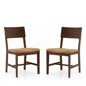 Dexter Dining Chairs - Set Of 2 (Brown, Dark Walnut Finish) by Urban Ladder
