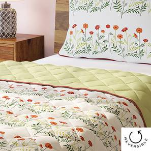 Marigold Quilt (Single Size, Multi Colour) by Urban Ladder