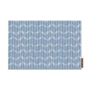 Overlay Table Mat (Akimbo, Blue Pattern) by Urban Ladder
