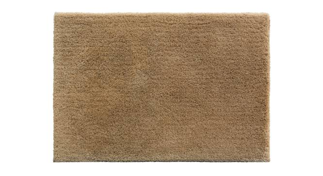 "Sherwood Super Soft Shaggy Rug (Brown, 122 x 183 cm  (48"" x 72"") Carpet Size) by Urban Ladder - Design 1 Top View - 219600"