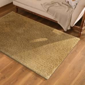 "Sherwood Shaggy Rug (Brown, 60"" x 96"" Carpet Size) by Urban Ladder"