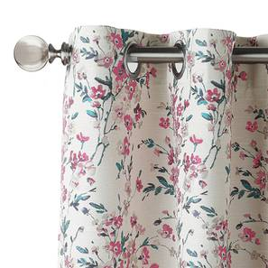 """Benmore Jacquard Door Curtains (Set of 2) (Multi Colour, 54""""x84"""" Curtain Size) by Urban Ladder"""