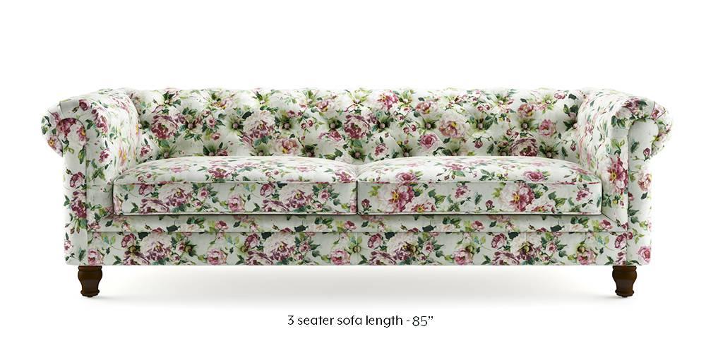 Winchester Fabric Sofa (Clara Velvet) (1-seater Custom Set - Sofas, None Standard Set - Sofas, Fabric Sofa Material, Regular Sofa Size, Regular Sofa Type, Clara Velvet) by Urban Ladder - - 220435