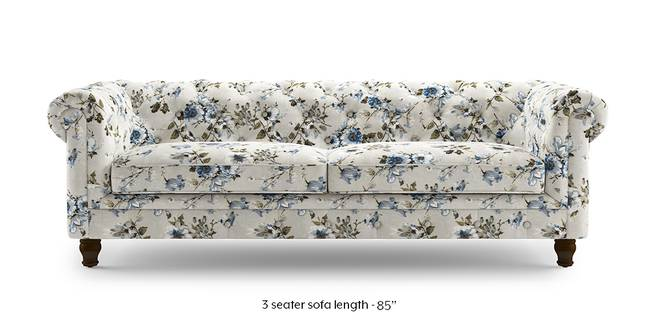 Winchester Fabric Sofa (Adrian Velvet) (3-seater Custom Set - Sofas, None Standard Set - Sofas, Fabric Sofa Material, Regular Sofa Size, Regular Sofa Type, Adrian Velvet)