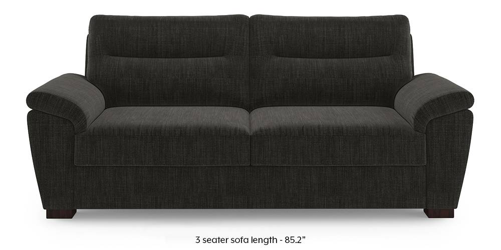Adelaide Sofa (Graphite Grey) (1-seater Custom Set - Sofas, None Standard Set - Sofas, Fabric Sofa Material, Regular Sofa Size, Regular Sofa Type, Graphite Grey) by Urban Ladder - - 220811