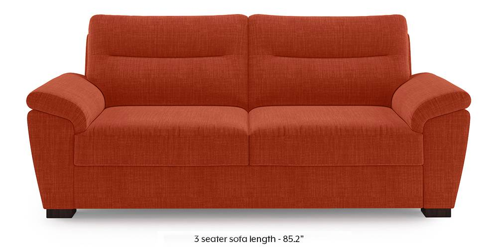 Adelaide Sofa (Lava Rust) by Urban Ladder