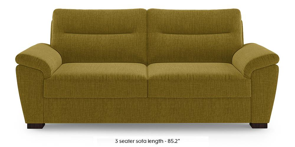 Adelaide Sofa (Olive Green) (1-seater Custom Set - Sofas, None Standard Set - Sofas, Olive, Fabric Sofa Material, Regular Sofa Size, Regular Sofa Type) by Urban Ladder - - 220920