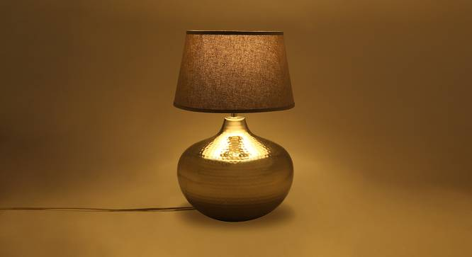 Canaria Table Lamp (Grey) by Urban Ladder