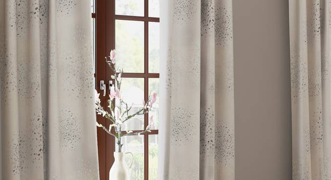 "Andromeda Jacquard Door Curtains (Set of 2) (Multi Colour, 54""x84"" Curtain Size) by Urban Ladder"