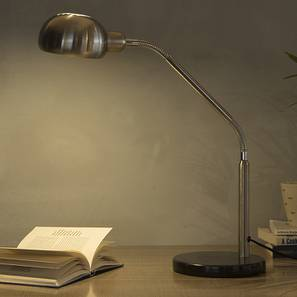 Capri Table Lamp (Grey) by Urban Ladder