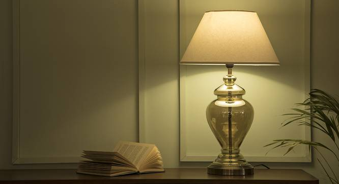 Paso Table Lamp (Champagne Base Finish) by Urban Ladder
