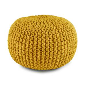 "Carmen Pouffe (Yellow, 16""' x 24"" Size) by Urban Ladder"