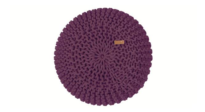 "Carmen Pouffe (Grape, 16""' x 24"" Size) by Urban Ladder"