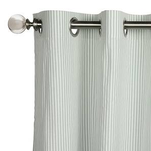 "Ambra Sheer Door Curtains (Set of 2) (52""x84"" Curtain Size, Multi Colour) by Urban Ladder"