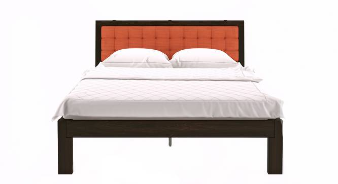 Florence Bed (Solid Wood) (Mahogany Finish, Queen Bed Size, Lava) by Urban Ladder - Design 1 Half View - 222617