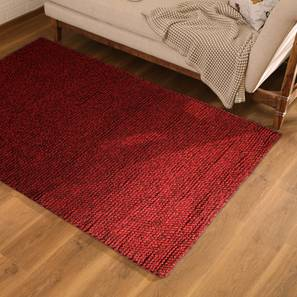 "Tashi Carpet (Red, 91 x 152 cm  (36"" x 60"") Carpet Size) by Urban Ladder - Design 1 Full View - 222709"