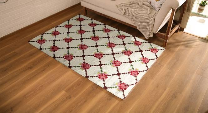"Rosetta Carpet (152 x 213 cm  (60"" x 84"") Carpet Size) by Urban Ladder - Design 1 Full View - 222714"