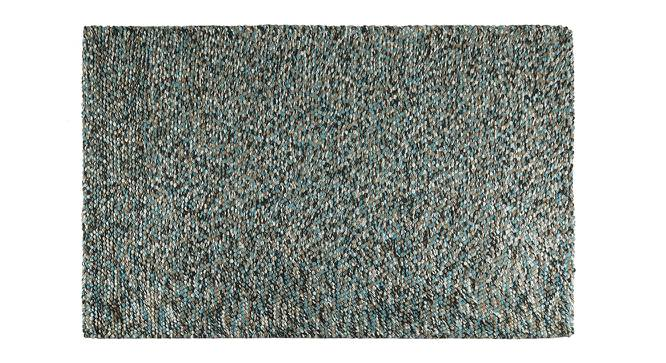 "Tashi Carpet (Blue, 60"" x 84"" Carpet Size) by Urban Ladder"