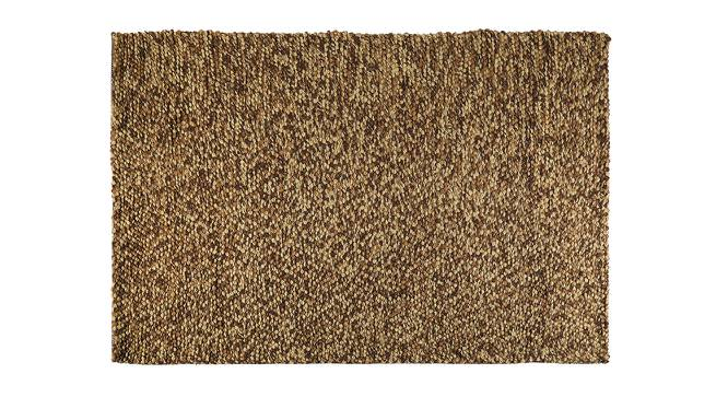 "Tashi Carpet (Brown, 60"" x 84"" Carpet Size) by Urban Ladder"
