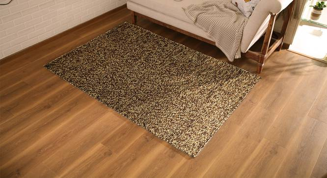 "Tashi Carpet (Brown, 36"" x 60"" Carpet Size) by Urban Ladder"