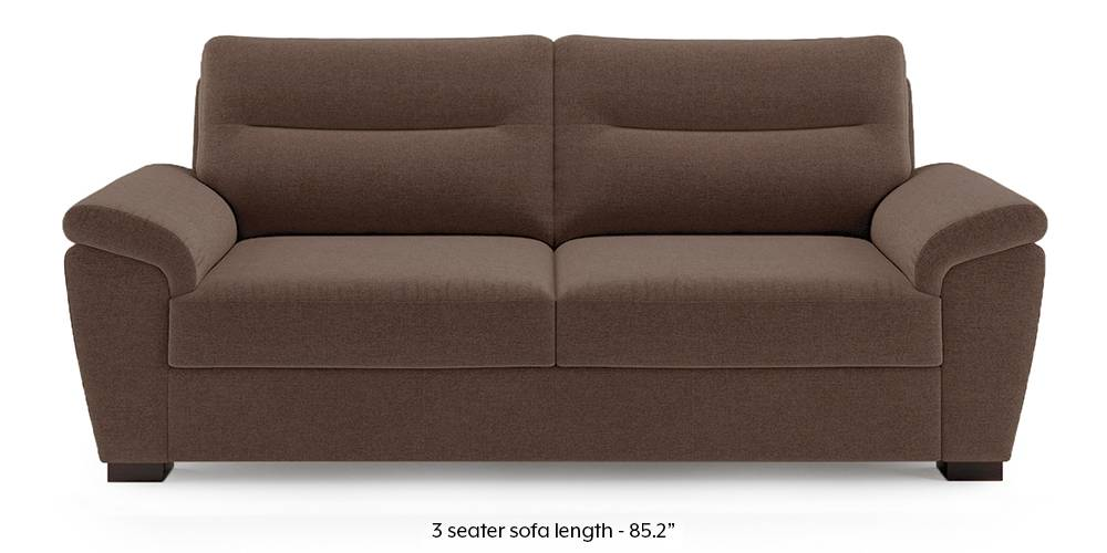 Adelaide Sofa (Daschund Brown) by Urban Ladder