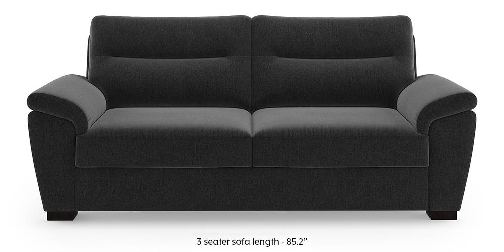 Adelaide Sofa (Pebble Grey) (1-seater Custom Set - Sofas, None Standard Set - Sofas, Fabric Sofa Material, Regular Sofa Size, Regular Sofa Type, Pebble Grey) by Urban Ladder - - 222896
