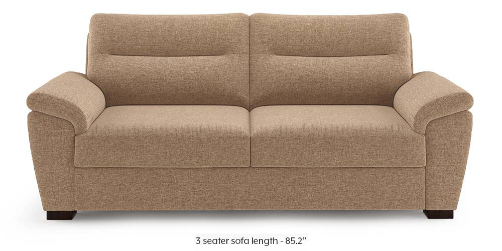 Adelaide Sofa (Safari Brown) by Urban Ladder