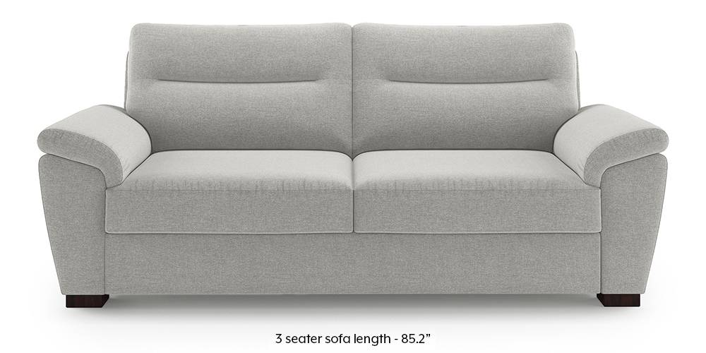 Adelaide Sofa (Vapour Grey) (1-seater Custom Set - Sofas, None Standard Set - Sofas, Fabric Sofa Material, Regular Sofa Size, Regular Sofa Type, Vapour Grey) by Urban Ladder - - 222978