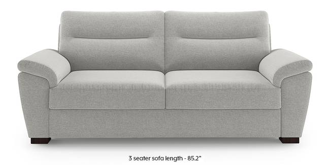 Adelaide Sofa (Vapour Grey) (1-seater Custom Set - Sofas, None Standard Set - Sofas, Fabric Sofa Material, Regular Sofa Size, Regular Sofa Type, Vapour Grey)