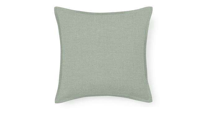 "Tito Cushion Cover - Set Of 2 (16"" X 16"" Cushion Size, Eucalyptus Green) by Urban Ladder"