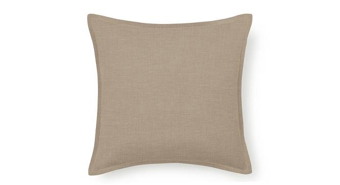 "Tito Cushion Cover - Set Of 2 (16"" X 16"" Cushion Size, Nougat Brown) by Urban Ladder"